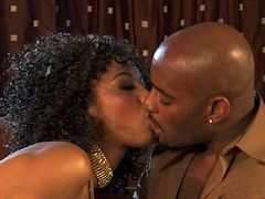 Hot sex with ebony porn star Misty Stone
