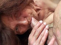 Wife Catches her Man fucking her Mom
