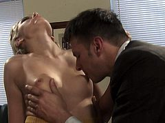 Office sex with easy lady Katie Summers