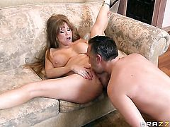 Keiran Lee pulls out his dick to fuck Darla Crane in the butthole