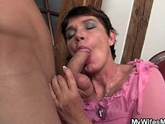 Horny mother in law fucks me