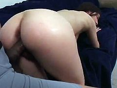 Awesome Pregnant having banged inside the Awesome three some