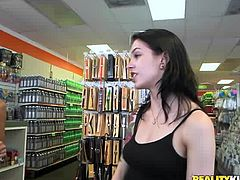 Sure, some hot young women are sluts no matter what, but these sluts are getting that way, because somebody flashed some cash. You see how many naked bitches can fit in a phone booth, as well as girls approaching the counter of a store, with their tits hanging out. Subscribe to see what they do for money!