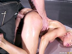 passionate nikki playing dirty with cock