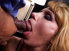 Vaginal threesome with black dick