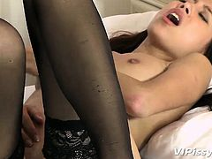Sexy roommates Paula and Kitty bring out the sensuality in