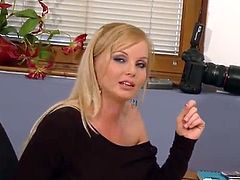 Awesome And Hot Angel exhibits Off Her Treasure inside A Casting
