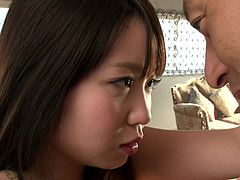 If you prefer Asian slutty teens, click to see this naked girl banged hard! The slim lady with crazy natural tits loves riding her partner's cock, while her playful nipples are pinched with a lusty desire. Watch her pounded hard from behind and spreading legs.