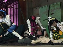 What is one favorite activity of sexy Nippon honeys? Cosplay of their favorite anime characters, of course! These babes dress up like their favorite characters and re-enact their favorite show, only this is filled with sex! They transport to somewhere, where they have cocks to suck on. Subscribe now!