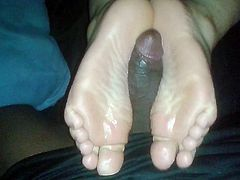 Another Footjob