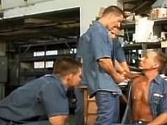 Prison Inmates & Officers Orgy
