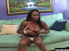 This clip is a must see for all you Jada Fire fans out there and if you werent a fan before, you are sure to be one after watching this hardcore scene. Jada is known on the circuit for taking it hard and dirty. This hot black fuck doll loves to gag on cock and have her asshole split by generous helpings of hard driving dick.