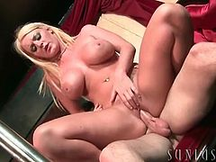Sophie Dee anal sex with a thick cock up her hole