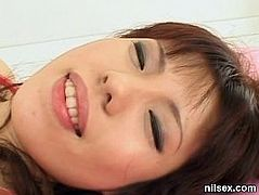 Bukkake cum loads on natural japanese teen and crazy groupsex