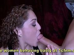 Drunk Girls Make Each Other Suck Strippers Cocks