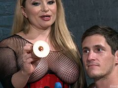 Ladies, this lesson from Kink University deals with you specifically. Does your man like you to dominate him? Does he have a desire sometimes for you to fuck his ass with a dildo, literally? If so, Aiden Starr shows you how to do it so it is fun and safe for couples. Starr and Tony demonstrate for you.