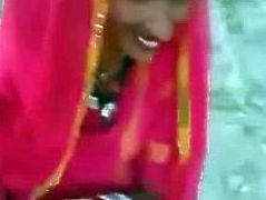 outdoor Bhabhi's Blowjob Dewar