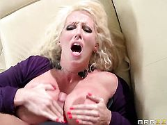 Alura Jenson is never enough and takes Xander Corvuss throbbing love wand in her loose fuck hole over and over again