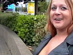 Big-Titted milf Ginas public nudity and english flashers rude out of doors exhibitionist self-stimulation inside A streets