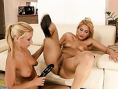 IVory Bell and Nikky Thorne both have fierce appetite for lesbian sex