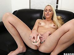 Ashley Stone with phat ass shows off her sexy body as she gets her mouth banged by mans sturdy man m