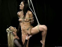 Blonde Katy Parker and Cipriana enjoy lesbian sex session they wont soon forget