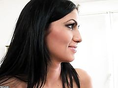 Brunette Anita Pearl loves pussy licking and cant say No to lesbian Pure Angel
