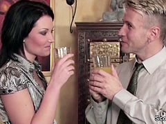 Mother best MILF Friend Seduce to Fuck by Step-Son