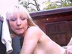 Blonde With Big Tits Gets Fucked