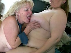 Sexy Old Granny With A Sexy Mature masturbate their pussy