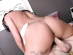 Austin riding huge cock of Johnny Sins
