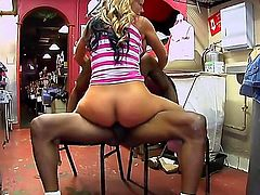 Nikki Sexx is going to get one big black cock and shes going to fucking love it! This girl is a real fan of those big cocks and shes not afraid to show her immense love for big dicks