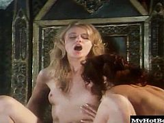 get it on with a man on the kings throne, in this costumed period piece from Luca Damianos story based epic porn production of Hamlet, which finds him sinking his dick in their throats, hairy pussies and tight asses in this hot group sex scene.