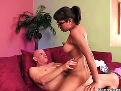 Jasmine Byrne is curious about interracial hardcore fucking