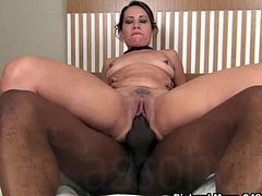 Latina MILF Queen Rouge And A Black Mann