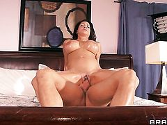 Teri Weigel with gigantic knockers fucks like theres no tomorrow in sex action with hard cocked bang buddy Bill Bailey
