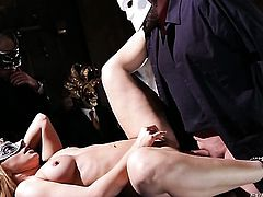 Mr. Pete loves glamorous Dana DeArmondS bum and fucks her as hard as possible