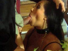 Gianna Lynn is giving a blow job