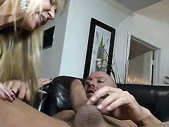 Will Powers plays hide the salamy with Erica Lauren in anal action before she takes it deep in her mouth