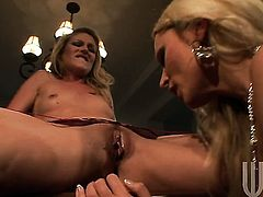 Fuck hungry harlot Samantha Ryan gives a closeup view of her wet spot as she masturbates