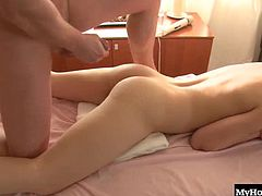 Rosanna is a Russian redhead with an aching back