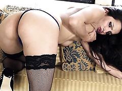 Chelsea French enjoys another masturbation session