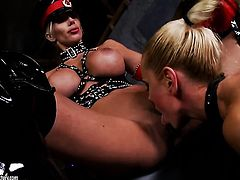 Blonde Puma Swede has some dirty lesbian fantasies to be fulfilled with Sandy