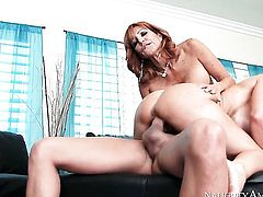Xander Corvus loves amazing Tara HolidayS soaking wet muff pie and bangs her as hard as possible