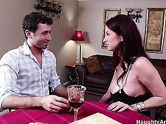 James Deen bangs Tiffany Mynx as hard as possible in hardcore action