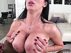 Nikki Benz is having interracial sex