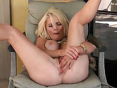 Alexis Ford shows every inch of her body before her masturbates on cam