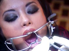 Hot asian Kaylani Lei gets banged by a horny dentist