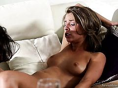 Presley Hart is just another fuck toy of insatiable lesbian Melissa Monet