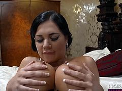 Madame Jasmine Jae is looking for a helping hand from her cute maid, Ms. Ava Dalush who is more than horny to help out and eat her pussy, as long as the Madame retributes in the same manner. Delicious!